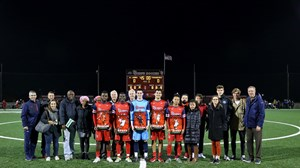 The 2018 St. John's Men's Soccer Senior Class.