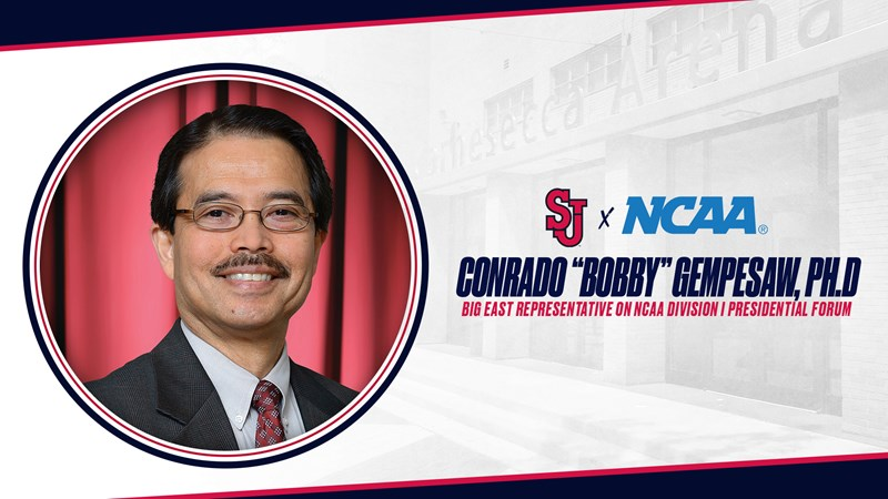 """Conrado """"Bobby"""" Gempesaw, Ph.D. Appointed to NCAA Division I Presidential Forum"""